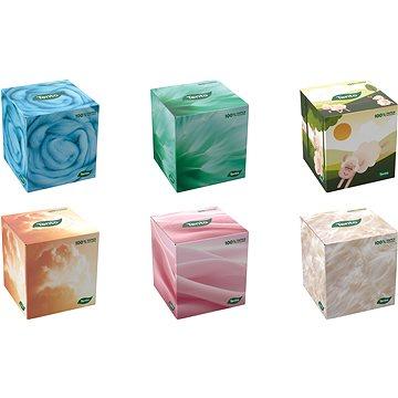 TENTO Cube box 58 ks, mix farieb - Papierové vreckovky