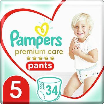 PAMPERS Pants Premium Care Junior veľ. 5 (34 ks) - Plienkové nohavičky
