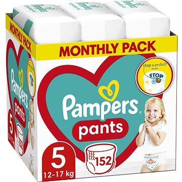 PAMPERS Pants veľ. 5 (152 ks) – mesačná zásoba - Plienkové nohavičky
