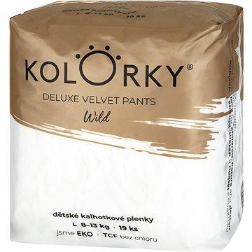 KOLORKY DELUXE VELVET PANTS – wild – L (8 – 13 kg) - Eko plienky