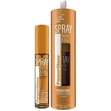 PanzerGlass Spray Twice a day – dezinfekčný antibakteriálny sprej (30 ml) - Čistič