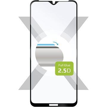 FIXED FullGlue-Cover pre Nokia 2.4 čierne - Ochranné sklo