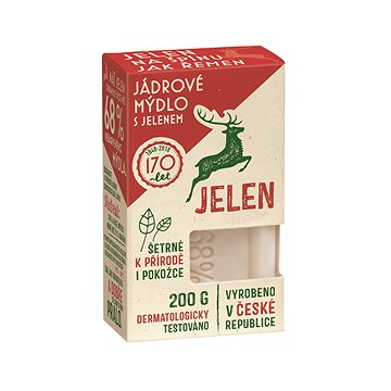 JELEN Jadrové mydlo 200 g - Mydlo na pranie