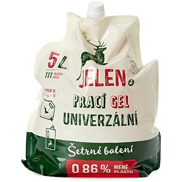 JELEN prací gél univerzálny REFILL 5 l (111 praní) - Ekologický prací gél