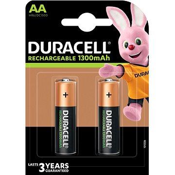 Duracell StayCharged AA – 2500 mAh 2 ks - Nabíjateľná batéria