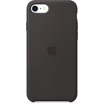 Apple iPhone SE Silikónový kryt čierny - Kryt na mobil