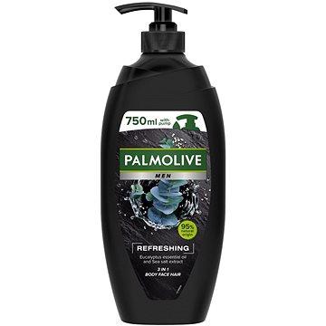 PALMOLIVE For Men Refreshing 3in1 Shower Gel pumpa 750 ml - Pánsky sprchovací gél