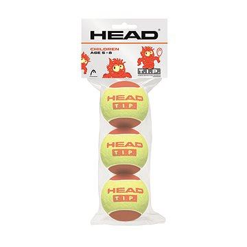 Head T.I.P red (3 ks) - Tenisová loptička