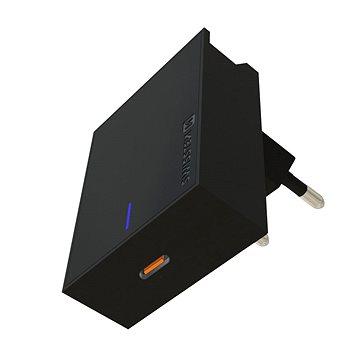 Swissten sieťový adaptér USB-C 18 W PD čierny - Nabíjačka do siete