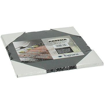 Tognana Bridlicová doska štvorcová 20 × 20 cm SLATE OLLY ARDESIA - Podnos