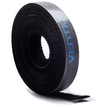 Vention Cable Tie Velcro 5 m Black - Organizér káblov
