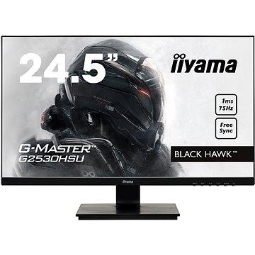 "25"" iiyama G-Master Black Hawk G2530HSU-B1 - LCD monitor"