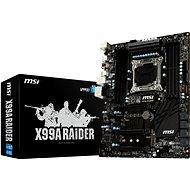 MSI X99A RAIDER - Základná doska