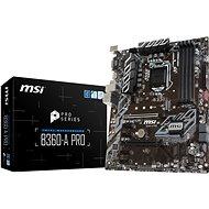 MSI B360-A PRO - Základná doska