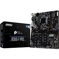MSI B360-F PRO - Základná doska