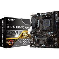 MSI B350M PRO-VD PLUS - Základná doska