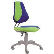 ALBA Fuxo S-Line zeleno/modrá - Rastúca stolička