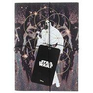 STAR WARS Darth Vader a Leia – Zápisník (2×) - Zápisník