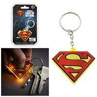 DC COMICS Superman – svietiaca kľúčenka - Kľúčenka