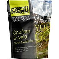 AdventureMenu – Kurča na divoko súprava (jedlo + ohrev + zipper bag) - Súprava