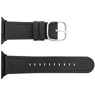 Eternico Apple Watch 42 mm/44 mm Leather čierny - Remienok