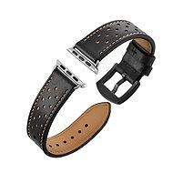 Eternico Apple Watch 38mm Leather Band Black - Remienok