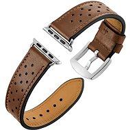 Eternico Apple Watch 42 mm / 44 mm Leather Band Brown - Remienok