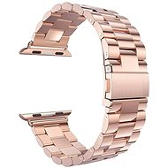 Eternico Apple Watch 38 mm / 40 mm Steel Band Rose Gold - Remienok