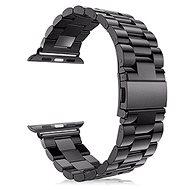 Eternico Apple Watch 42 mm / 44 mm Steel Band Black - Remienok