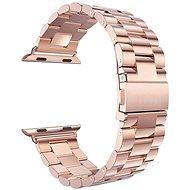 Eternico Apple Watch 42 mm / 44 mm Steel Band Rose Gold - Remienok