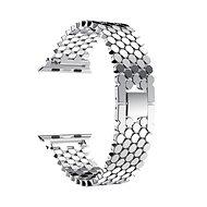 Eternico 38mm / 40mm Metal Band Silver pre Apple Watch - Remienok