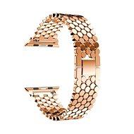 Eternico 38mm / 40mm Metal Band ružovo zlatý pre Apple Watch - Remienok