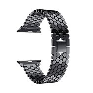 Eternico 42mm / 44mm Metal Band čierny pre Apple Watch - Remienok