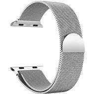 Eternico Apple Watch 42 mm/44 mm Milanese strieborný