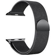 Eternico 38mm / 40mm Milanese čierny pre Apple Watch - Remienok