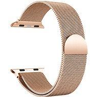 Eternico 38mm / 40mm Milanese růžovo zlatý pre Apple Watch - Remienok