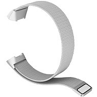 Remienok Eternico Fitbit Charge 3 / 4 Steel strieborný (Large)