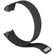 Remienok Eternico Fitbit Charge 3 / 4 Steel čierny (Large)