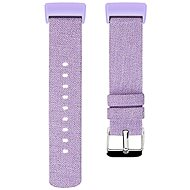 Remienok Eternico Fitbit Charge 3 / 4 Canvas fialový (Large)