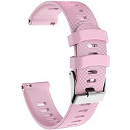 Eternico Garmin Quick Release 20 Silicone Band Steel Buckle ružový - Remienok
