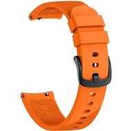 Eternico Garmin Quick Release 20 Silicone Band oranžový - Remienok