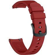 Eternico Garmin Quick Release 20 Silicone Band červený - Remienok