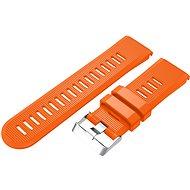 Eternico Garmin Quick Release 26 Silicone Band Silicone Silver Buckle oranžový - Remienok