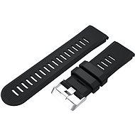 Eternico Garmin Quick Release 26 Silicone Band Silicone Silver Buckle čierny - Remienok