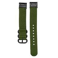 Eternico Garmin Quick Release 20 HQ Nylon zelený - Remienok