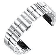 Eternico Garmin Quick Release 26 Stainless Steel Band Steel Plating strieborný - Remienok