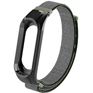 Eternico Mi band 3 Nylon Dark Olive - Remienok