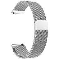 Eternico Quick Release 20 Milanese Band strieborný pre Samsung Galaxy Watch - Remienok