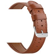 Eternico Quick Release 20 Leather Band hnedý pre Samsung Galaxy Watch - Remienok