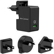 AlzaPower Travel Charger T200 čierna